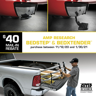 AMP Research rebate